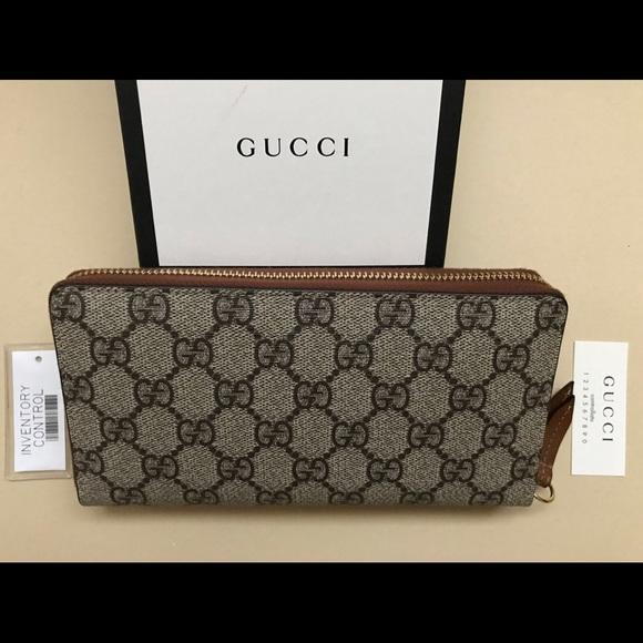 7185fef883da Gucci Bags | Gg Supreme Wallet 100 Authentic | Poshmark